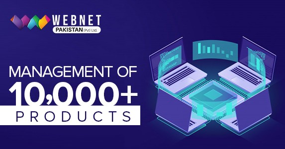 Management of 10,000+ products
