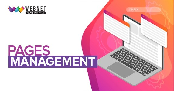 Pages management