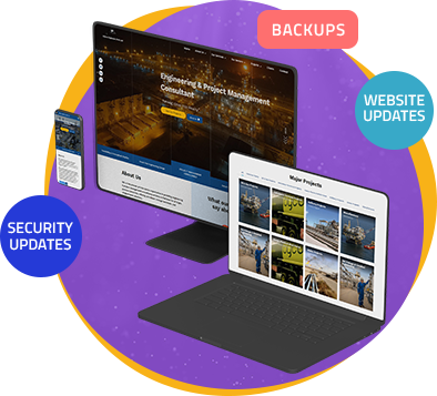 We regularly monitor your performance and keep your website secured