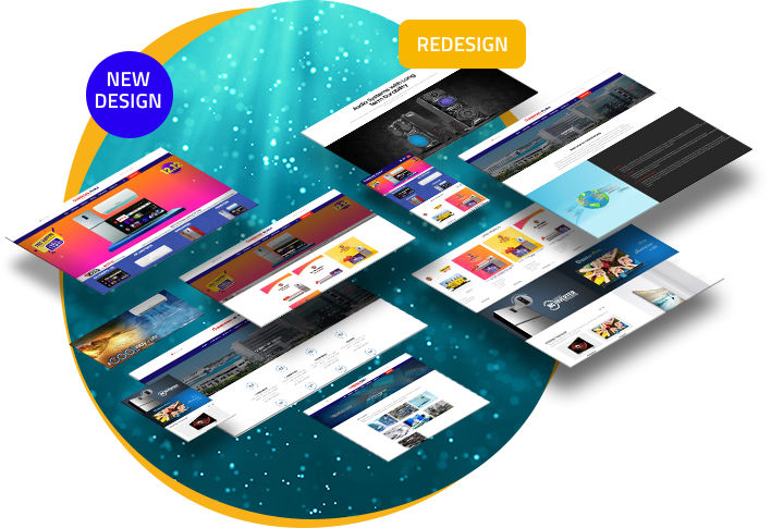 Have a look at our vast portfolio Our creativity, smartness & scope