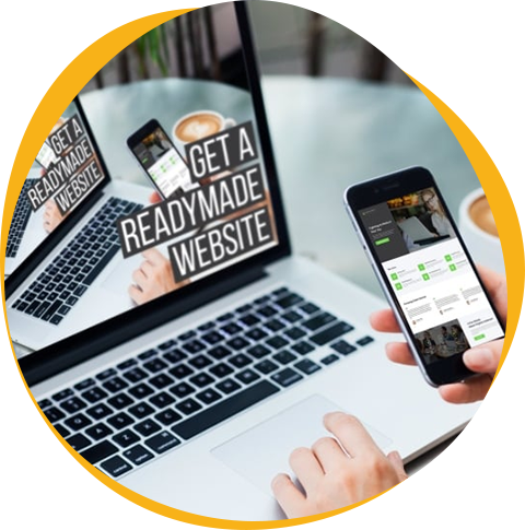We Have Professional Readymade Website to go LIVE Immediately
