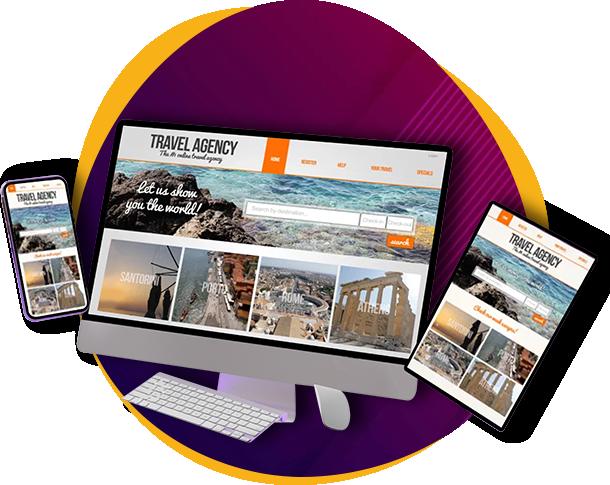 Responsive Website means Mobile Friendly Websites.